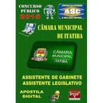 Apostila Concurso Pubico Camara Itatiba Sp Assistente Legislativo 2015 - Apostilas So Concursos