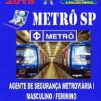 Apostila Concurso Publico Metro Sp Agente Seguranca Metroviaria I 2015 - Apostilas So Concursos