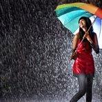 É melhor caminhar ou correr na chuva?