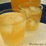 Culinária - Chá gelado de abacaxi com hortelã
