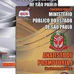 Apostila Concurso Ministério Público do Estado de São Paulo 2015 ,Analista de Promotoria I  Assistente Jurídico