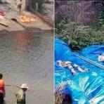 Garota cai em represa e seus pais, irmãos e tios morrem afogados tentando salvá-la