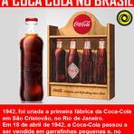 A história da Coca Cola no Brasil