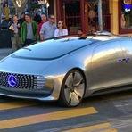 Mercedes sem motorista avistado a andar em São Francisco