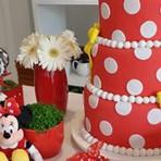 Decoração de festa da Minnie