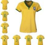 Camisa do Brasil feminina