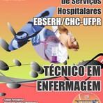 Apostilas para Concurso EBSERH 2015 - Complexo Hospital de Clínicas da Universidade Federal do Paraná (CHC-UFPR)