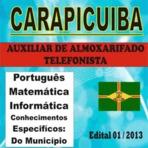 Prefeitura de Carapicuíba/SP lança concurso com 342 vagas