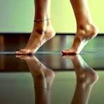 Na ponta dos pés...