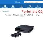 preço de Playstation 4  baixou  hoje