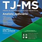 Apostila Concurso TJMS Mato Grosso do Sul (IMPRESSA) Analista Judiciário - Grátis CD