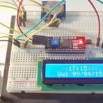 Arduino e Cia : Display LCD 16x2 com módulos I2C e relogio DS1307