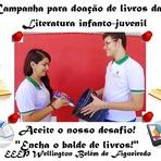 Campanha para doação de livros da Literatura infanto-juvenil