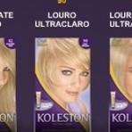 Tabela de cores Koleston
