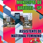 Concursos Públicos - Apostila Concurso Prefeitura Municipal de Barueri 2015 (SP) para Assistente e Merendeira CD Grátis