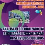 Livros - Apostila ANALISTA ESPECIALIZADO EM REGULAÇÃO E FISCALIZAÇÃO DE SERVIÇOS PÚBLICOS - Concurso AGRU 2015