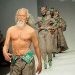 Curiosidades - Chines de 79 anos eh o Modelo mais velho do Mundo