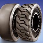 Curiosidades - Você não vai acreditar no que este pneu sem ar da Michelin consegue fazer