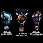 """Cinema - Gillette anuncia parceria com Marvel e lança produtos """"criados"""" por Tony Stark"""