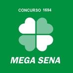 Resultado da Mega-Sena Concurso 1694