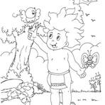 Desenhos do folclore brasileiro