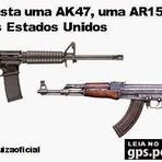Segurança - Quanto custa uma AK47, uma AR15 e outras armas nos Estados Unidos...