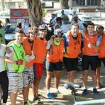 Cerca de 250 ciclistas festejam, com pedalada, os 5 anos de passeios pela orla da Ilha do Governador