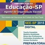 Concursos Públicos - Apostila Concurso SEE/SP [2015] Agente de Organização Escolar (PDF)
