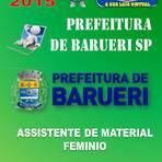 Apostila Concurso Publico Prefeitura de Barueri SP Assistente de Material Feminino 2015 - Apostilas So Concursos