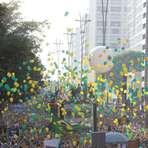 Pesquisa: 83% dos manifestantes de SP votaram em Aécio Neves e apenas 3% na Presidenta Dilma