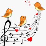 De passaros em fios para sinfonia emocionante!