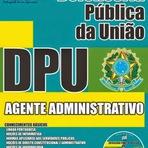 Apostila do Concurso DPU 2015 Defensoria Pública da União - Agente Administrativo - Impressa, Grátis, Digital e PDF