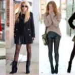 Meia calça para inverno