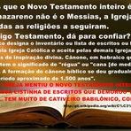 Mistérios - A Bíblia foi organizada pela Igreja Católica, sendo jesus Falso Messias, dá para confiar nessa compilação?