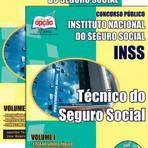 Apostila Concurso INSS Técnico do Seguro Social 2015 (GRÁTIS CD)