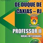 Apostila Concurso Prefeitura de Duque de Caxias 2015-  Professor II - Áreas Integradas