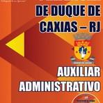 Apostila Auxiliar Administrativo Concurso de Duque de Caxias-RJ 2015