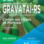Apostilas Prefeitura de Gravataí - RS - Professor