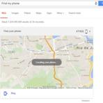 'find my phone' Agora é possível encontrar seu smart usando a busca do Google