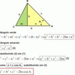Educação - Fórmula da área do triângulo