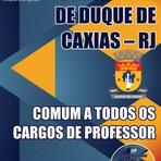 Concurso Prefeitura de Duque de Caxias / RJ  COMUM A TODOS OS CARGOS DE PROFESSOR  Edição: Abril/2015
