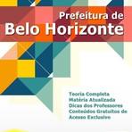 Apostila Belo Horizonte Assistente Administrativo 2015