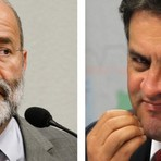 Vaccari e Aécio Neves : dois citados na Lava Jato. Enquanto um é preso, o outro pede impeachment  #ExplicaMoroPorqueSoPT