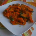 Culinária - Delícia de cenoura no micro-ondas!