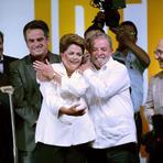 'Presidenta Dilma fará o brasileiro voltar a sorrir', afirma Lula em evento