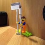 Organize seus cabos usando LEGO