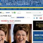 """Site do PSDB é hackeado e publica texto: """"O partido mais hipócrita e corrupto do Brasil""""  Confira o artigo original no"""