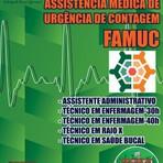Concurso Fundação de Assistência Médica e de Urgência de Contagem (FAMUC)  DIVERSOS CARGOS  Edição: Abril/2015