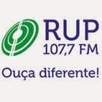 Música - Rádio RUP FM 107,7 ao vivo e online Umuarama PR