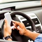 Distrações ao volante provocam 6 em cada 10 acidentes